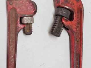 2 Pipe Wrenches   Ridgid E14   Fuller 10 in