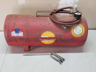 Mid states Air Tank w Hose and Spray Nozzle
