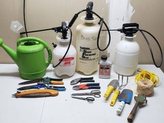 3 Garden Sprayers and Other Gardening Tools