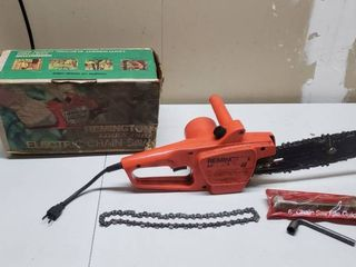 Remington Electric Chain Saw 8 in    works