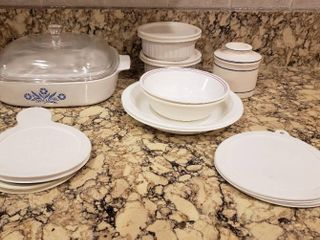 Corning Ware and Corelle Dishes