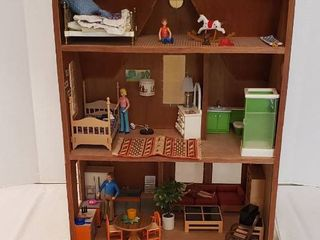 Craft Kit Doll House with Furnishings