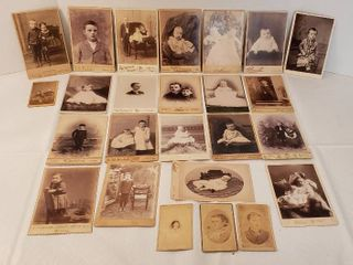 Vintage Black and White Photos from late 1800s