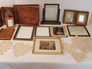 Wood Picture Frames  Wood Photo Album and Dollies