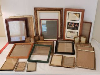 Picture Frames  Several Shapes and Sizes