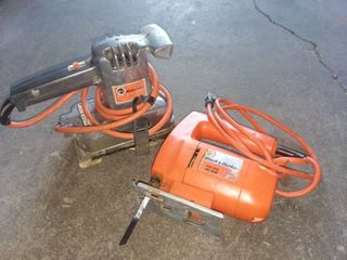 Black and Decker Deluxe Sander and Jig Saw