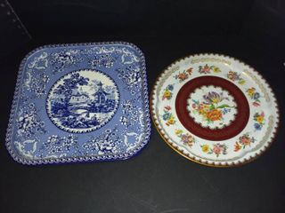 Daher Decorated Ware Metal Serving Trays