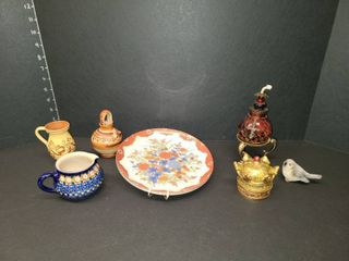 Handmade in Germany Pottery with Various Decor