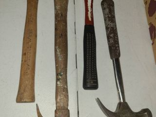 Claw Hammers lot of 4