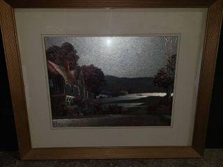 Framed Farmhouse Art 20 x 24 in