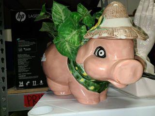 Piggy Flower Pot
