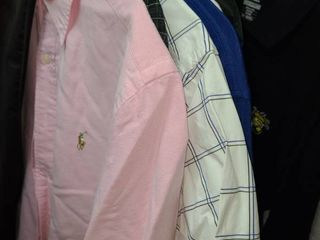 MENS POlO  Short Sleeve Button Up Shirts  Size lG
