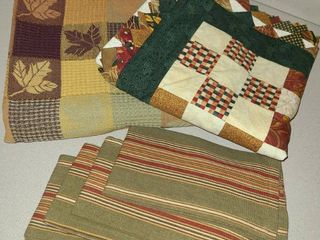 Fall Tablecloths and Napkins