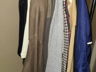 MENS Sweaters and Sweater Vest  Size large  POlO  TOMMY HIlFIGER  and Others