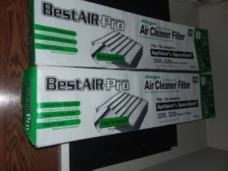 Best Air Pro Filters Aprilair and SpaceGard Models 2200 and 2250 Set of 2