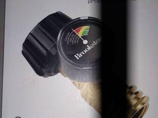 Brookstone Propane Gas Monitor Grill Gauge New In Box