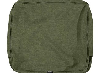 set of 2  Classic Accessories Montlake Water Resistant Patio Back Cushion Slip Cover