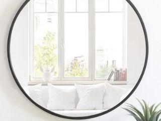 Carson Carrington labbemala Metal Frame Round Mirror  Retail 137 99