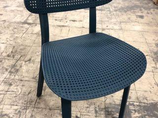 Blue Indoor  Outdoor Chair