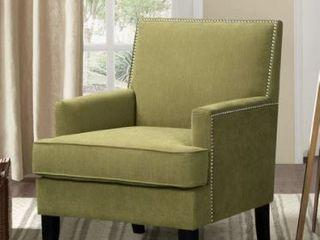 Copper Grove Eveque Kiwi Green linen Arm Chair  Retail 314 49