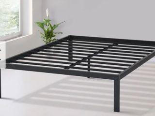 Sleeplanner 14 inch Dura Steel Slate Bed Frame  Black S 3500  Round Edge  King Retail 169 99