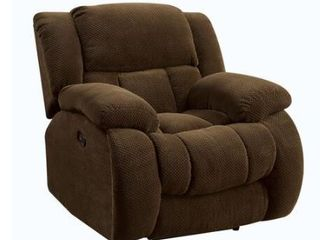 Coaster Furniture Glider Recliner  Brown