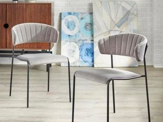angelo HOME Kalmar Dining Chair  Set of 2  Retail 211 99