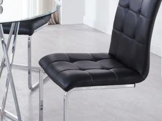 Strick   Bolton Estelline Breuer Style Side Chairs   Set of 2  Retail 199 49