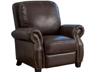 Torreon PU leather Recliner Club Chair by Christopher Knight Home   Retail 384 49