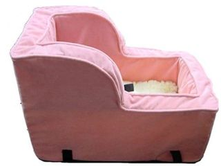 Snoozer High Back Console Pink Dog