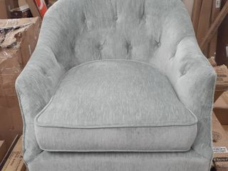 Madison Park Miri Tight Back Club Chair  Retail 313 99