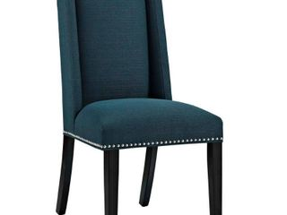 Baron Fabric Dining Chair Azure   Modway