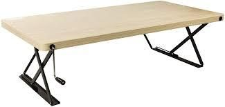 Halter Manual Adjustable Height Table Top