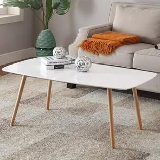 Olso Coffee Table White   Johar Furniture