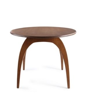 Baine Dining Table   Deco Walnut   Haven Home