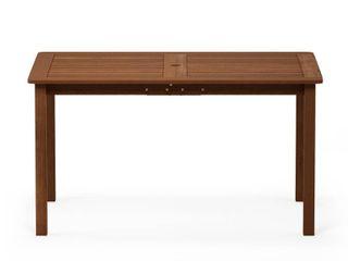 Furinno Tioman Hardwood Outdoor Dining Table  FG18070