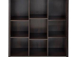 Storage Cube  ClosetMaid Premium 9 Cube Organizer   Black Brown