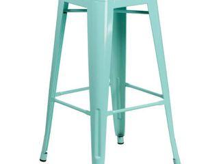 Flash Furniture 30  High Backless Indoor Outdoor Barstool  2 stools