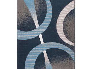 Global Rug Design loma lOM02 Dark Blue 7 8  x 10 7  Area Rug