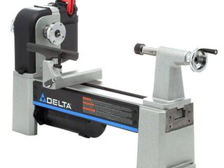 DElTA 11 in x 36 in Variable Speed Wood lathe