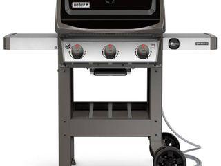 Weber Spirit II E 310 Natural Gas Grill  Black