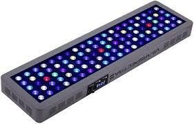 VIPARSPECTRA Timer Control Dimmable 300W lED Aquarium light Full Spectrum for Grow Coral Reef Marine Fish Tank lPS SPS