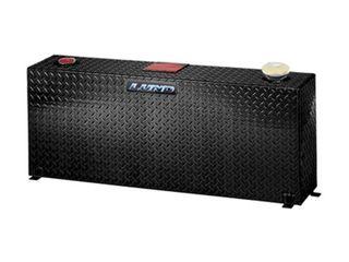 lUND 73350 Black Diamond Plated 50 Gallon Aluminum Vertical liquid Storage Tank