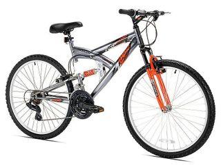 Kent Northwoods Men s Z265 18 Speed Mountain Bike   Silver  26