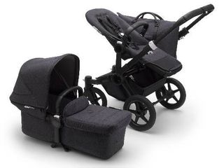 Infant Bugaboo Donkey3 Mineral Mono Complete Stroller With Bassinet  Size One Size   Black