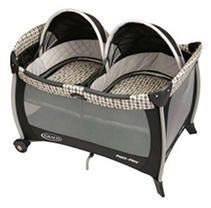 Graco Pack  n Play Playard with Twin Bassinets  Vance