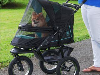 Pet Gear NV No Zip Pet Stroller  Sky line