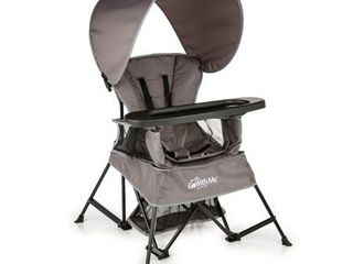Baby Delight Go With Me Venture Deluxe Portable High Chair   Gray