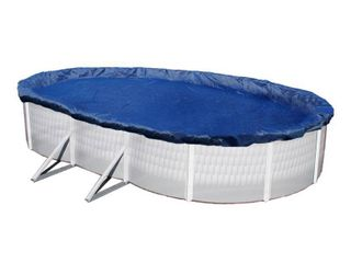 Blue Wave 18  x 38  15 Year Oval Above Ground Pool Winter Cover