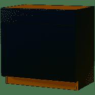 Diamond NOW Arcadia 36 in W x 35 in H x 23 75 in D Truecolor White Sink Base Stock Cabinet